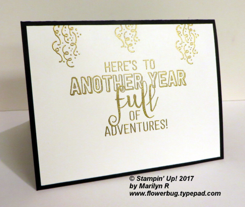 Balloon Adventures New Years card