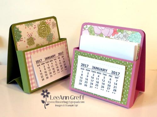 Easel Note Calendar