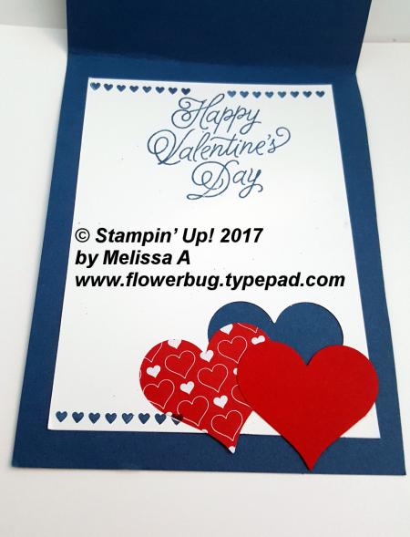 Melissa's Valentine inside