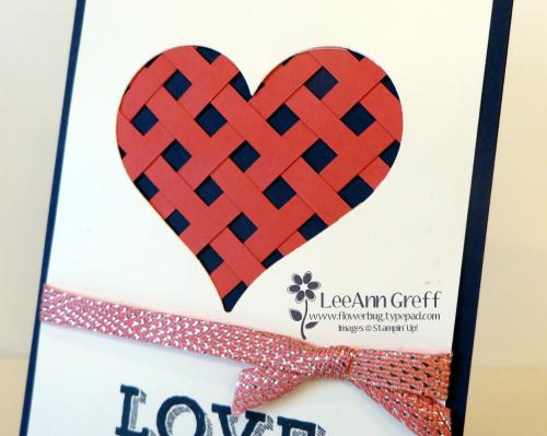 Paper Weaving heart 1