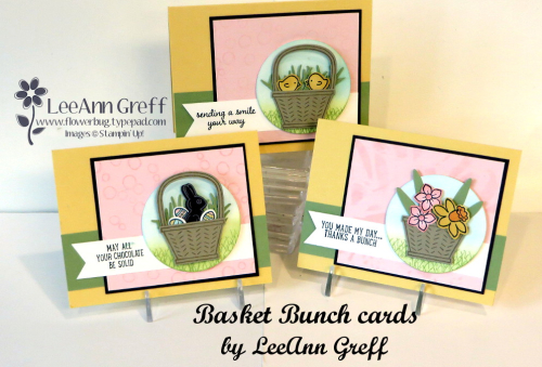 Basket Bunch Easter cards