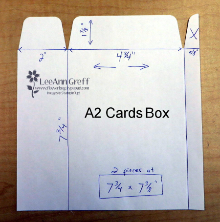 Gift Bag card box