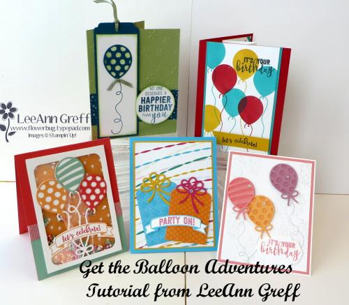 Balloon Adventures cards