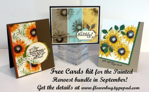 Painted Harvest cards kit