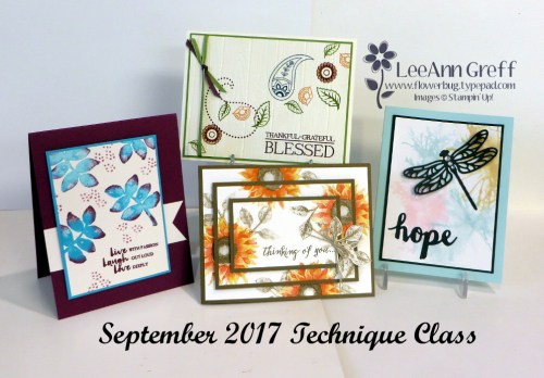 Sept Technique class cards