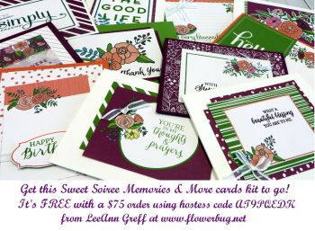 Sweet Soiree cards kit