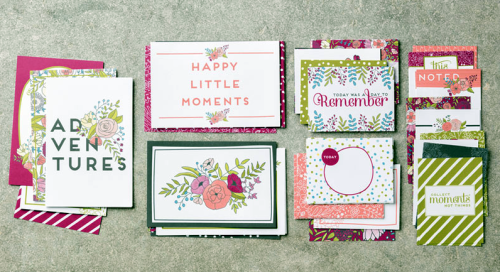 Sweet Soiree cards pack