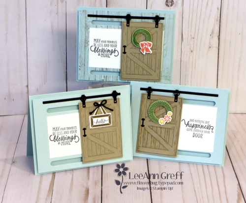 Feburary Barn Door cards