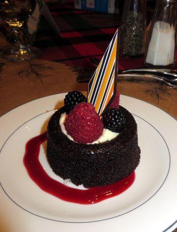 Final event dessert