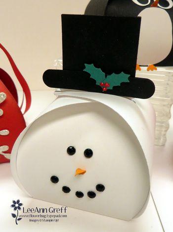 Curvy Keepsake Snowman