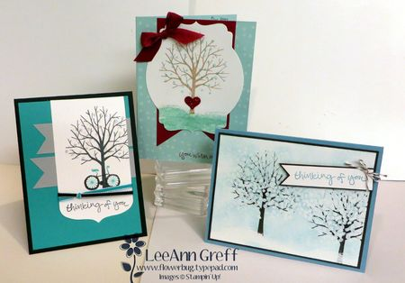 Sheltering tree class to go cards