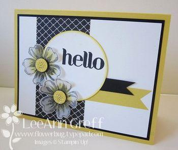 Flower shop yellow black