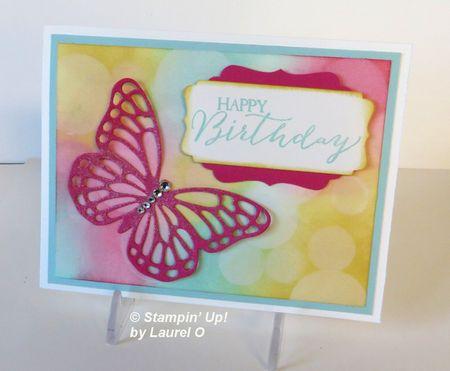 March Butterfly Bokeh by Laurel