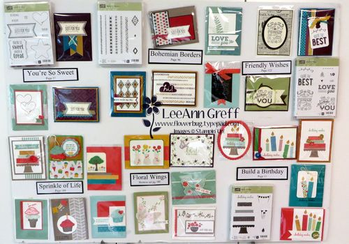 Open house cards board