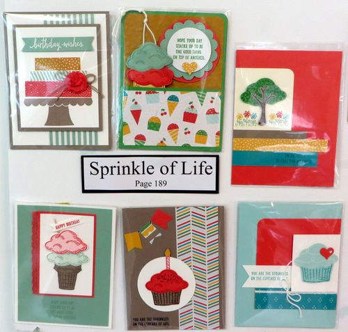 Sprinkles of Life cards board
