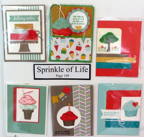 Sprinkles of Life cards board