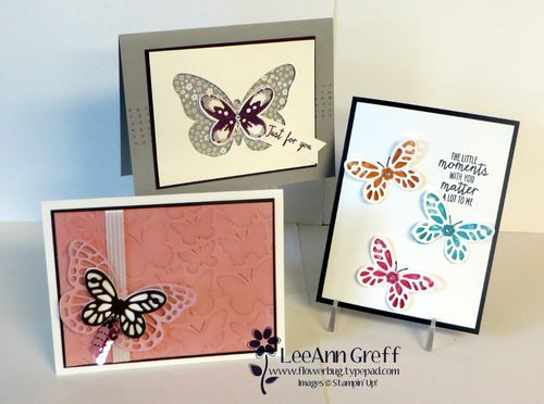 Watercolor Wings cards