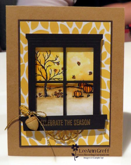 Happy Scenes fall card