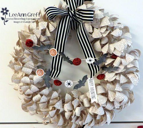 Season to Season wreath Halloween.