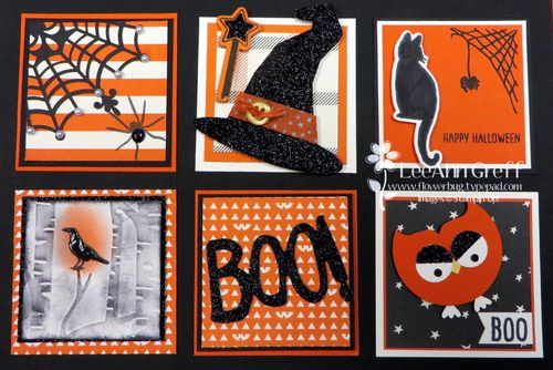 Halloween sampler top