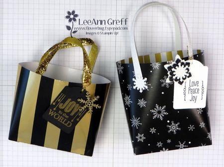 Wonderland Christmas gift bags