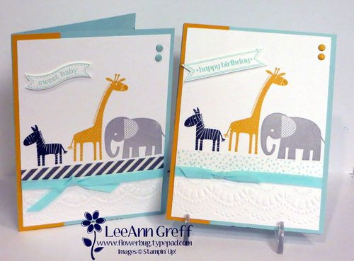 Zoo babies ws cards