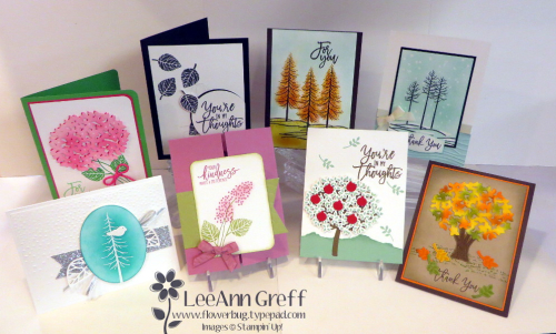 Thoughtful branches cards