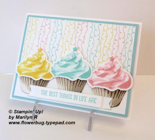 Sweet cupcake Marilyn