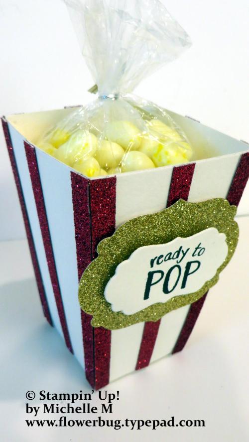 Popcorn box Michelle.