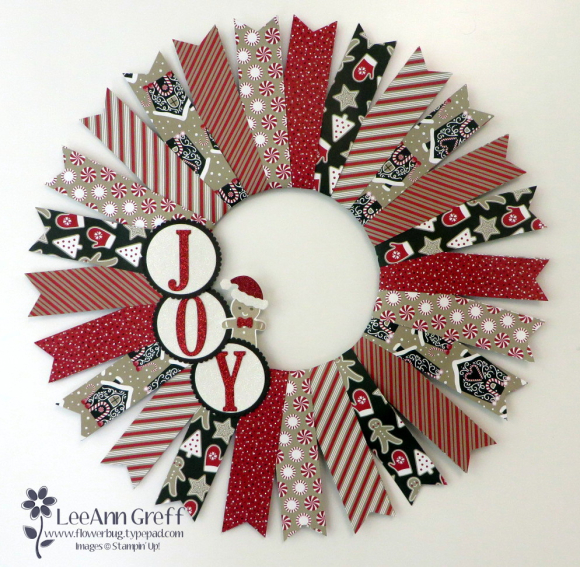 Candy Cane lane wreath