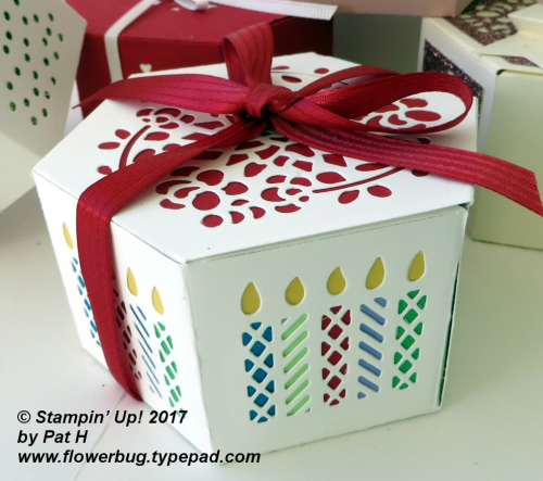 Birthday window box