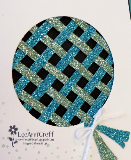 Feb Glimmer paper weaving