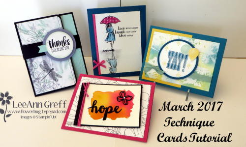 March 17 technique class cards