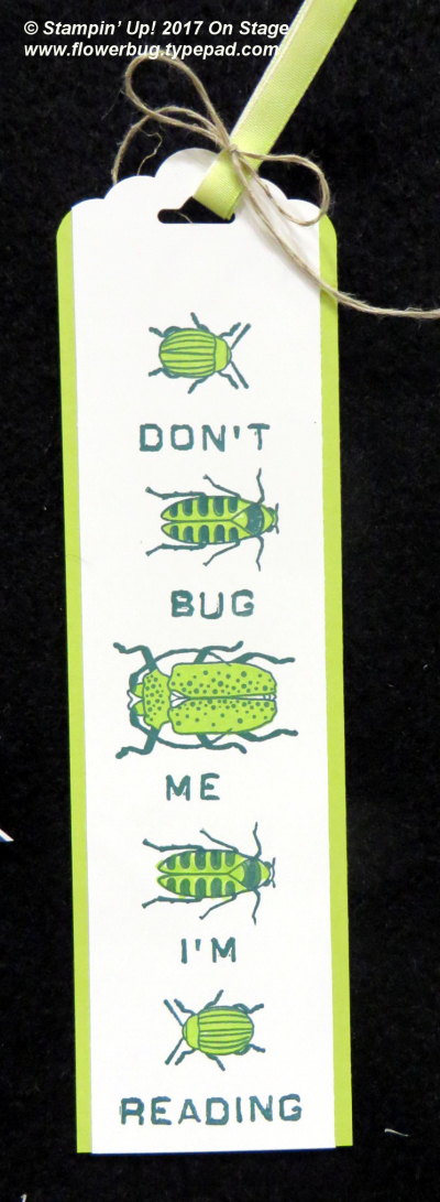 Don't Bug Me bookmark