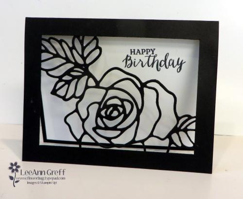 Rose Garden thinlits birthday