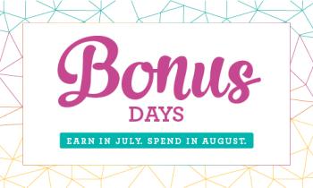 Bonus days..