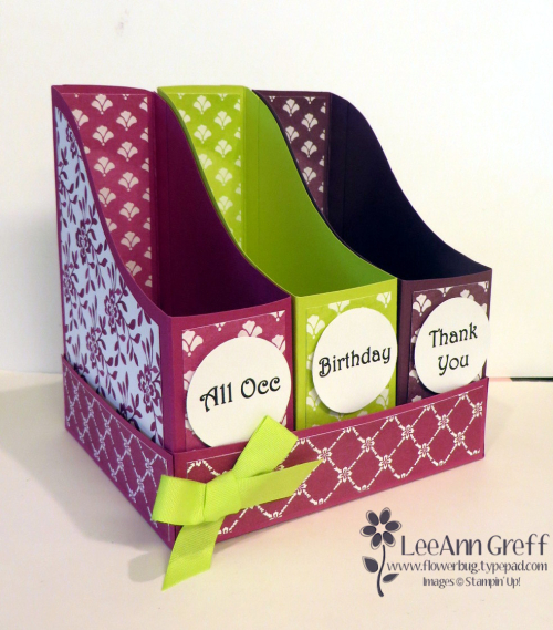 File Style Card Box