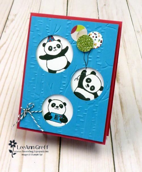 Happy Panda peekaboo