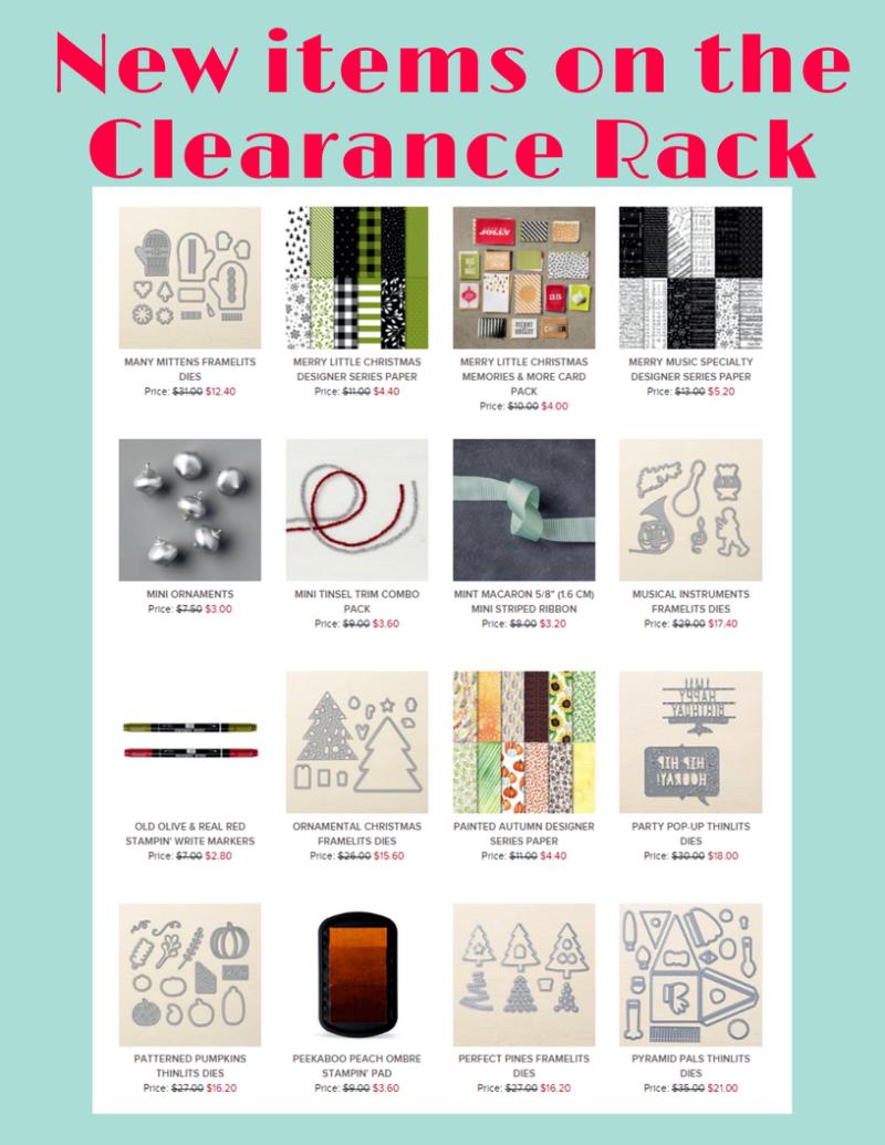 Clearance Rack april.
