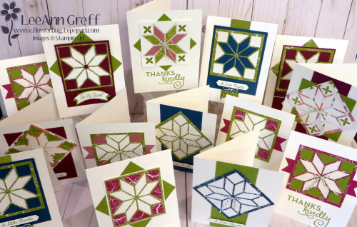 Christmas Quilt cards..