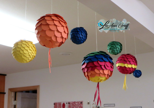 In Color ball decor