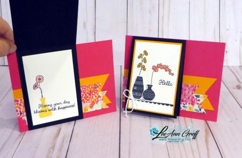 Varied Vases flip cards