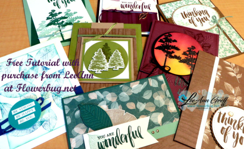 Rooted in nature tutorial cards