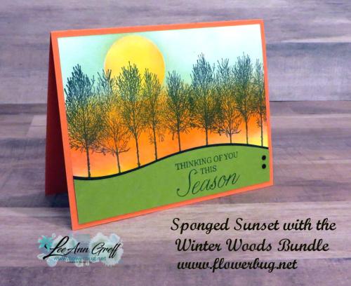 Winter Woods retreat card