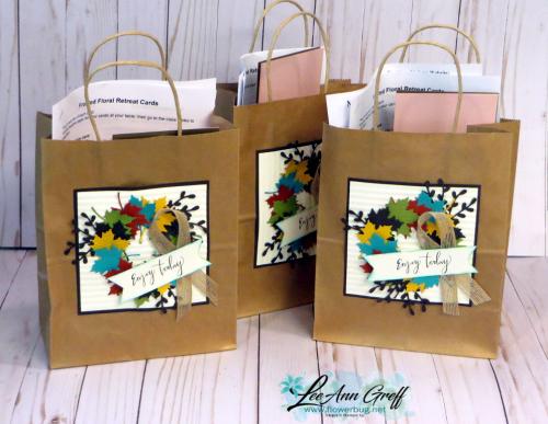 Fall retreat bags