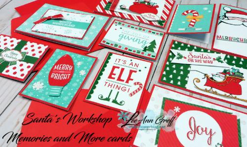 Santa's workshop cards