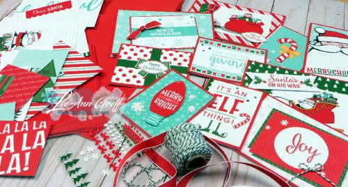 Santa's workshop Memories & More cards.