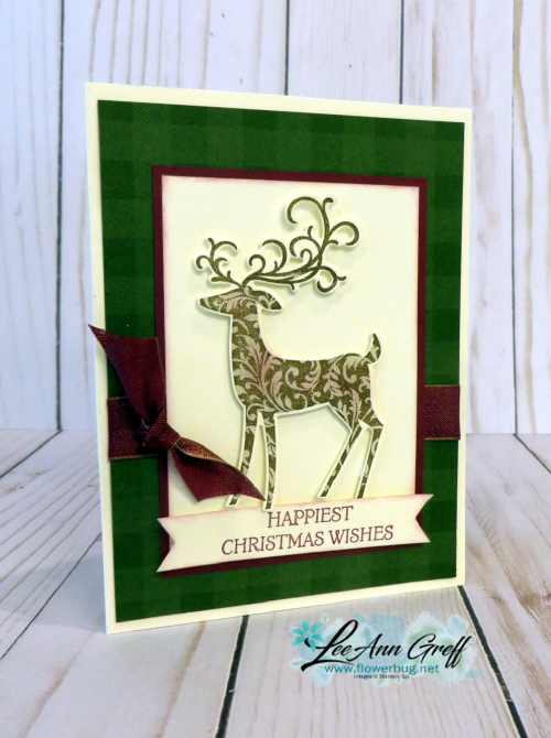 Stamparatus deer die cuts