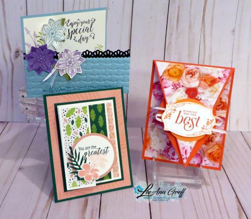 July Fun Fold cards