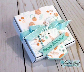 December birthday gift box